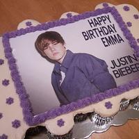 Justin Bieber Cupcake Cake