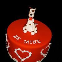 Woof you Be Mine, Valentine? by Benni Rienzo Radic