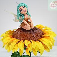 Spring fairy Natalia Salazar