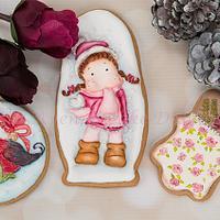 Dimensional Winter Wonderland Cookies 🌲☃️🕊️