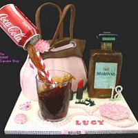 Disaronno and Coke