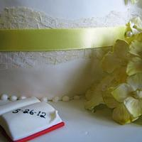 His & Hers Wedding Shower Cake