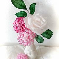 Simply wafer paper flowers