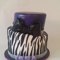 Birthday Cake Topsy Turvy