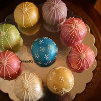 Temari Cake/Christmas ornament cake