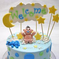 Welcome! by Cynthia Jones