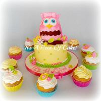 Owl Baby Shower and Cupcakes