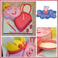 Peppa Pig Fairy Princess Cake
