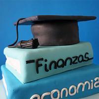 Graduation Cake by Caketown