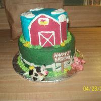 Kennon's 2nd Birthday Cake