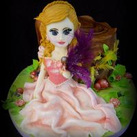 Princess & fairy cake