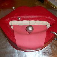 Piercing Cake