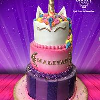 3 Layer Unicorn Cake