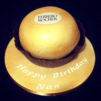 3d Ferrero Rocher cake