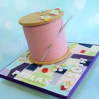 Cotton Reel - Sewing theme