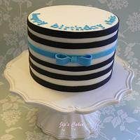 Chris' BD Cake by Jip's Cakes