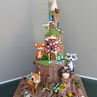 Forest Birthday party
