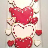 Valentine Hearts by Alicia