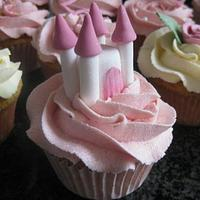 Princess Castle Cupcake