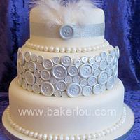 1920's Flapper Inspired Cake