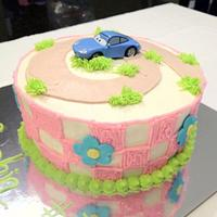 Cars Themed cakes for Twins 3rd birthday by Dawn Henderson
