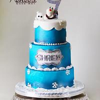 Frozen Theme By Purbaja B chakraborty