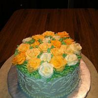 40th Anniversary cake by kimma
