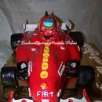 Ferrari cake 3d