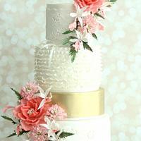"""Endear""- Wedding Cake"
