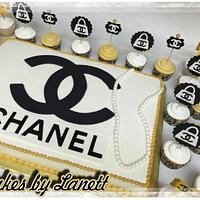 Chanel Cake & Cupcakes
