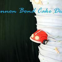 Tornado Birthday Cake by Shannon Bond Cake Design
