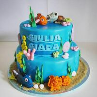 Nemo Cake