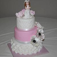 First Holy Communion Cake by Prima Cakes and Cookies - Jennifer