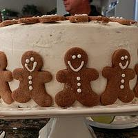 Gingerbread cake by bakedbyrachel