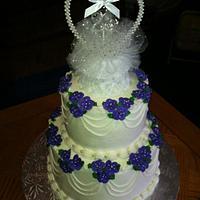 25th Anniversay Cake