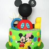 Mickey clubhouse Bday cake