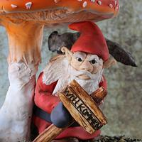 "Sinister Gnome: Eyes Watching You ""CPC Halloween Collaboration -"