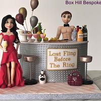 Cocktail Bar Cake