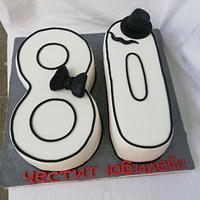 Торта за юбилей