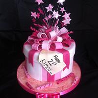 21st birthday gift box