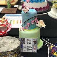Sugar Art 4 Autism cake