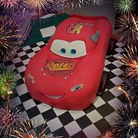 Cars Sculpted cake