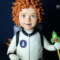 Leo, the little Astronaut