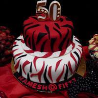 Birthday cakes..