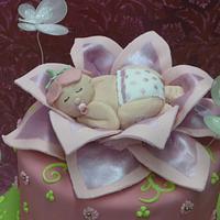 Baby in flower   by Svetlana