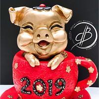 Mi colaboración para year the pig challenge