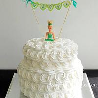 My latest Tinkerbell cake