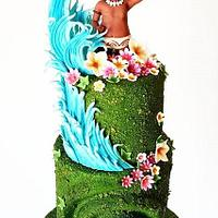 """Vaiana Cake by Sophia Fox"""