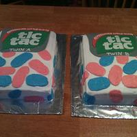 Tic Tac Gender reveal  by michelle