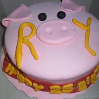 my piggy cake